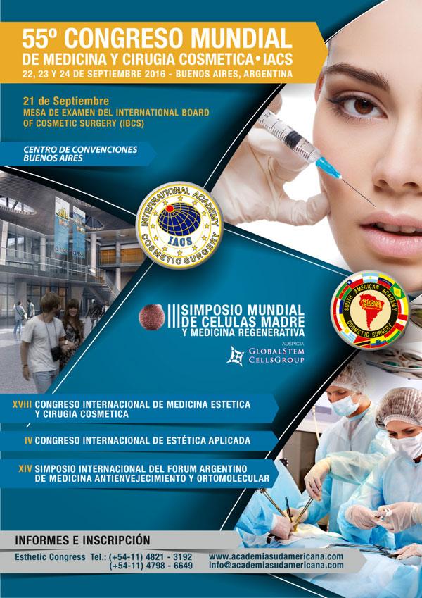 55° CONGRESO MUNDIAL DE MEDICINA Y CIRURGIA COSMETICA – IACS