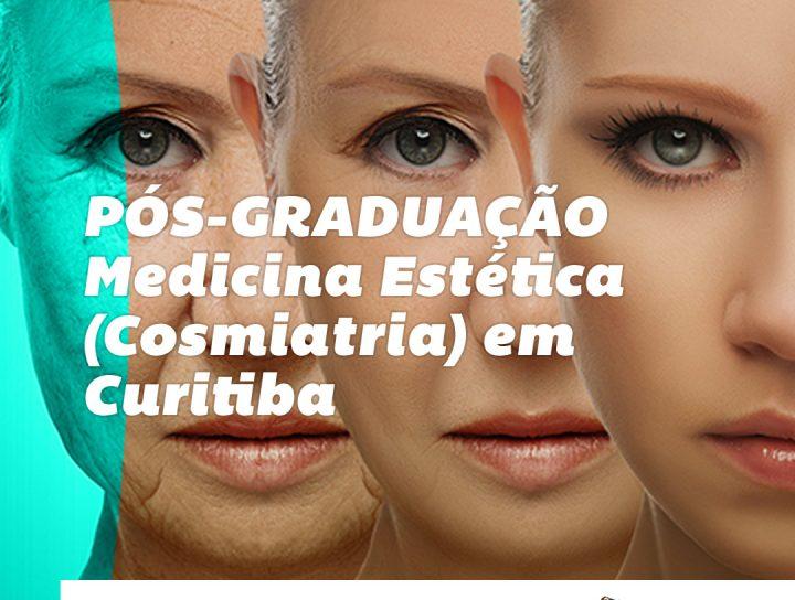 pos graduação dermatologia estetica cosmiatria em curitiba